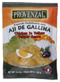 Ají de gallina Provenzal Hühnchen in Chilisauce 100g