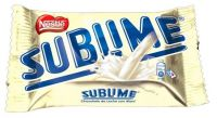 Schokolade Chocolate Sublime blanco 40g